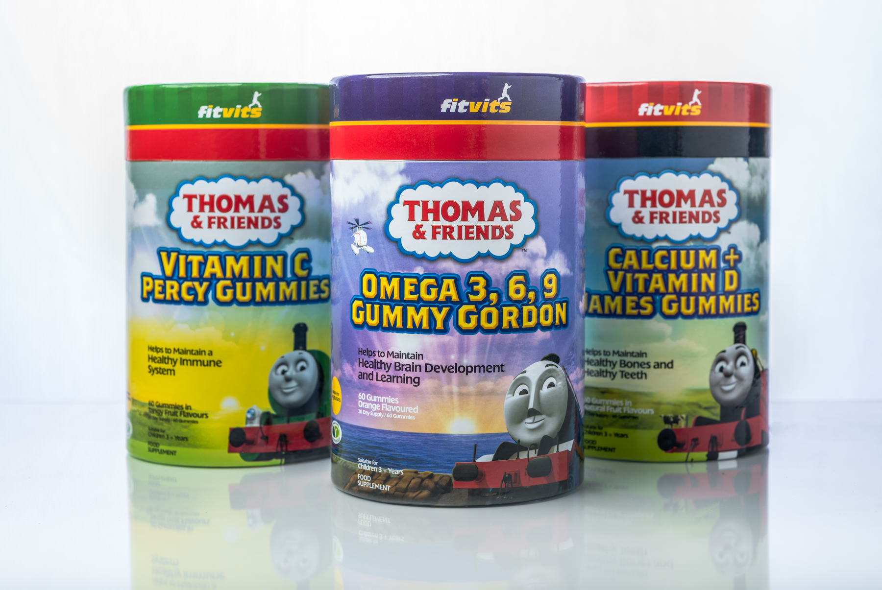 Fitvits Thomas & Friends Gummy Vitamins